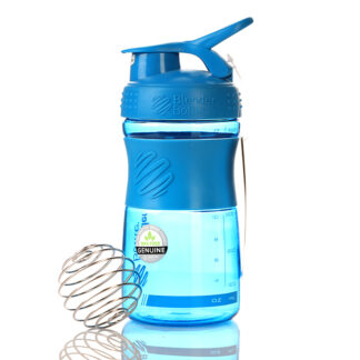 blender bottle sportmixer 600ml cyan 1