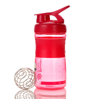 blender bottle sportmixer 600ml pink 1