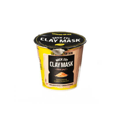 farm skin superfood mix it clay mask pink salt 1