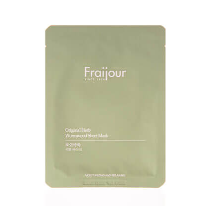 fraijour original herb wormwood sheet mask 1
