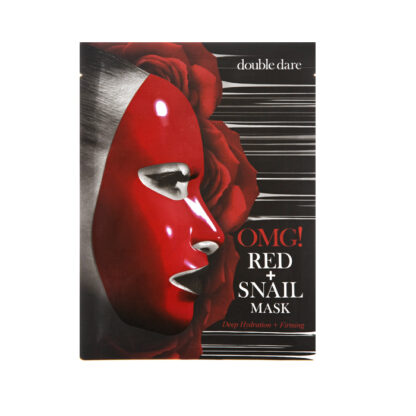 omg red snail mask 1