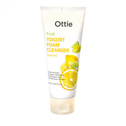 ottie yogurt foam cleanser lemon 150ml 1