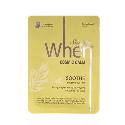 simply when cosmic calm soothe mask 23ml 1