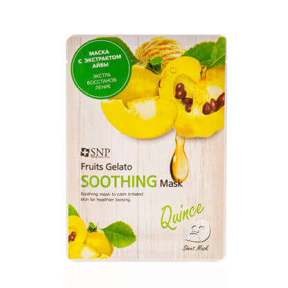 snp fruits gelato quince soothing mask 25ml 1