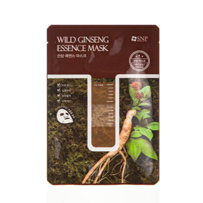 snp wild ginseng essence mask 25ml 1